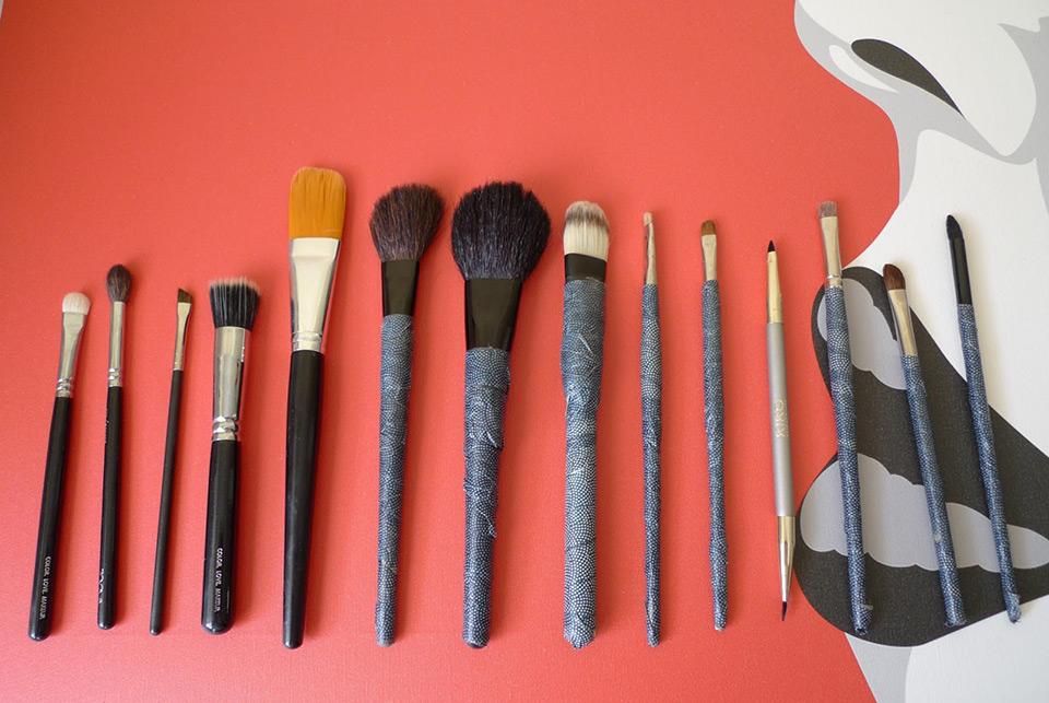 Pinceles básicos para maquillar