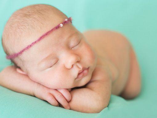 Fotografía recién nacido en Alicante. Olivia
