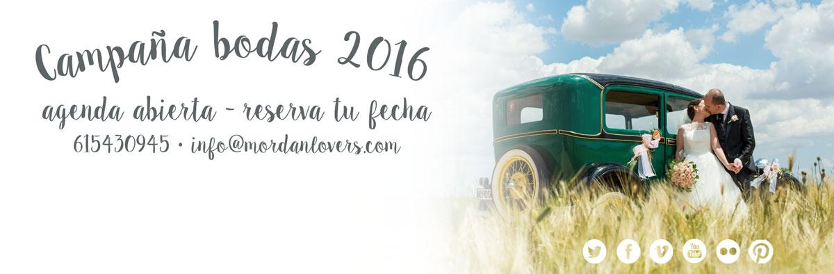 Abierta agenda bodas 2016