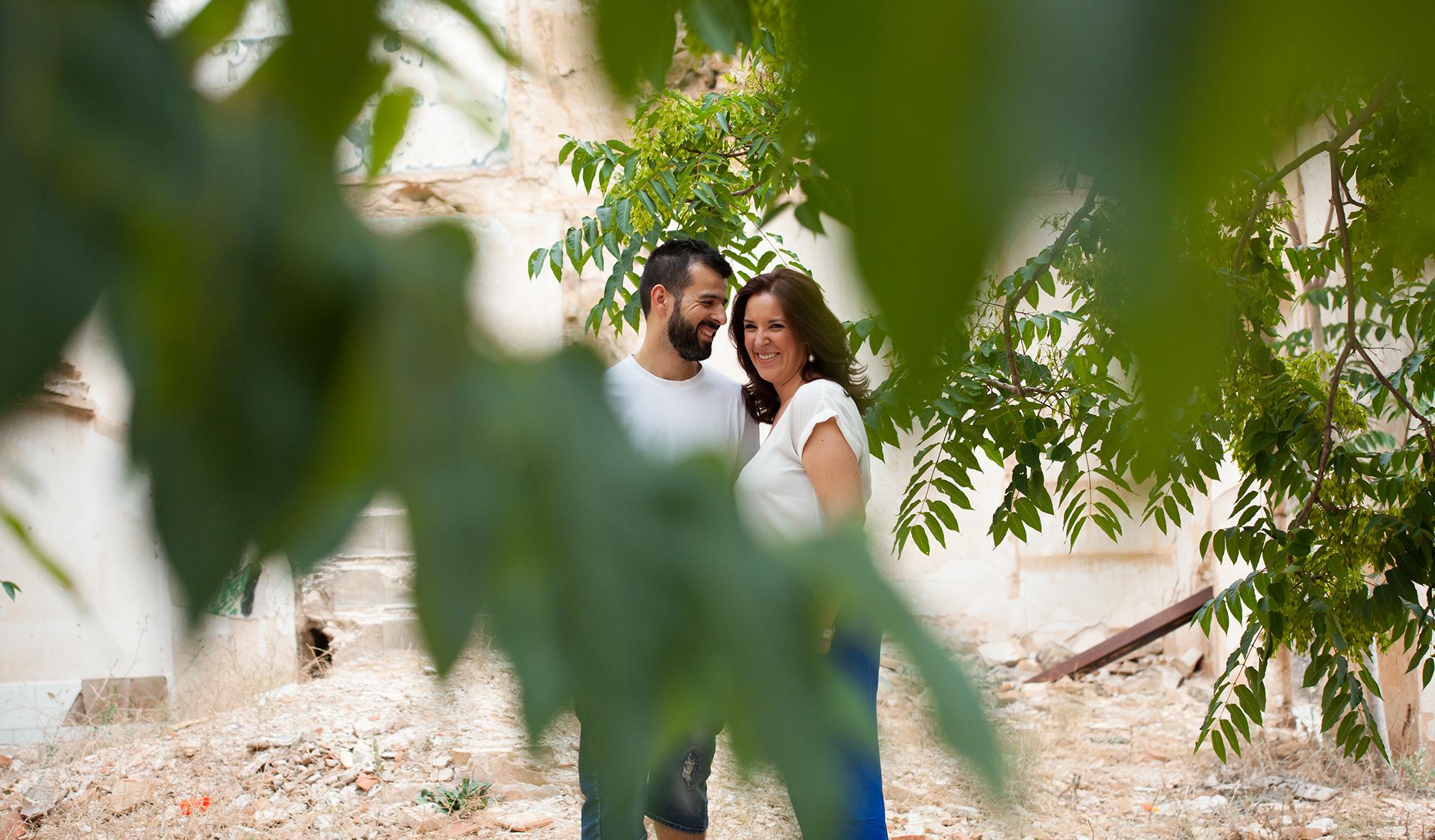 fotografía preboda Almansa. Cristina & Jorge