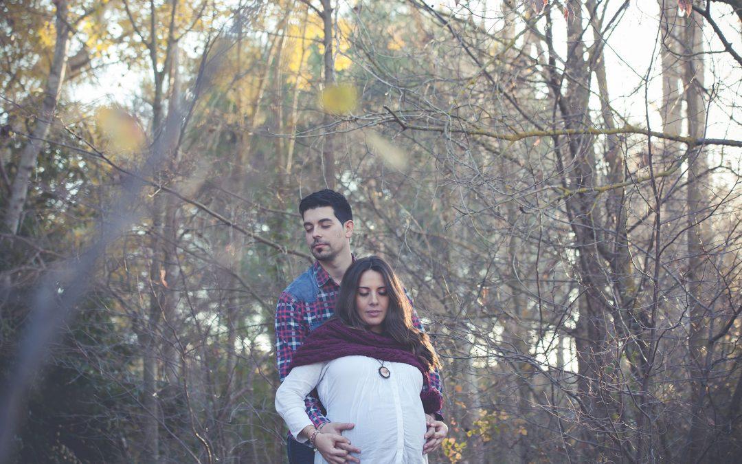 Fotografía embarazo. Patri & Alex. Almansa