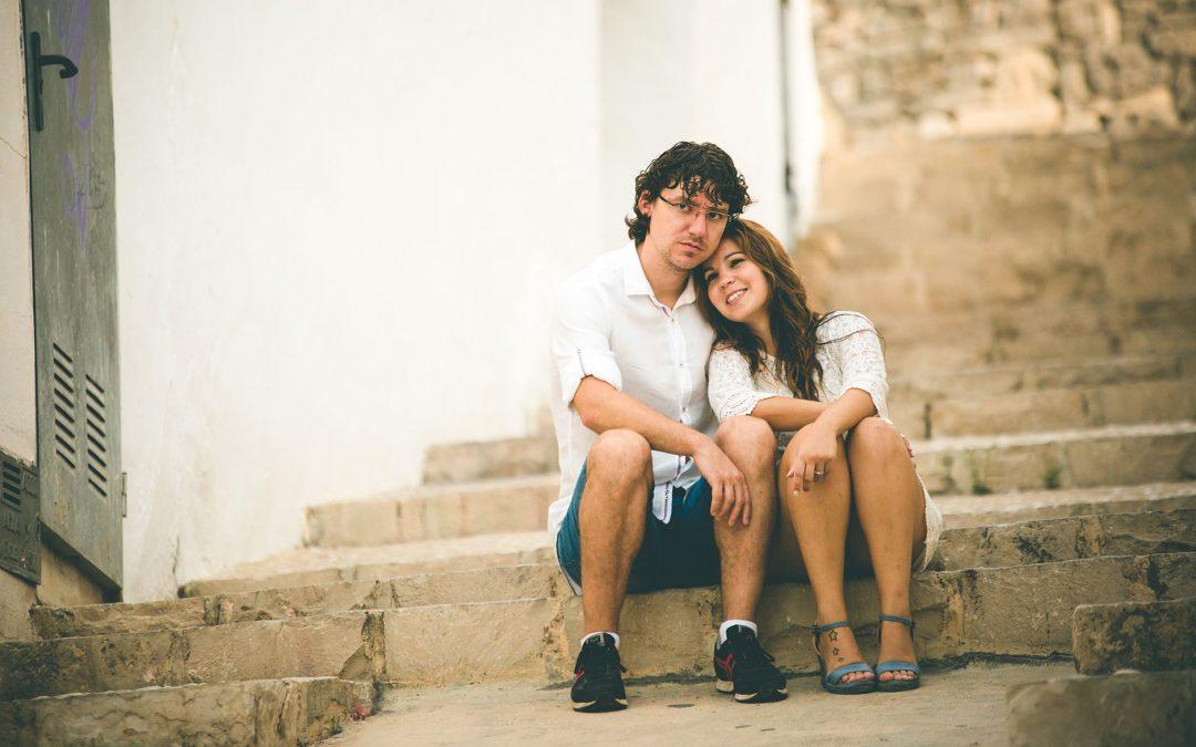 Fotografía pre boda en Altea. María & Daniel
