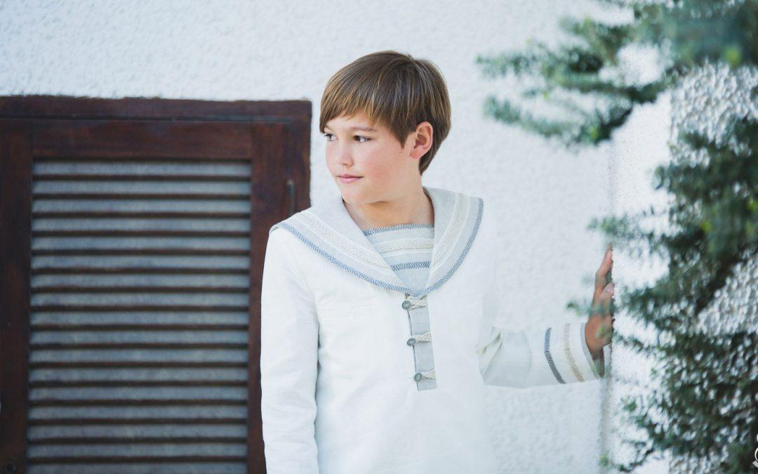 Fotos de niño de Comunión en Pueblo Acantilado. IKER
