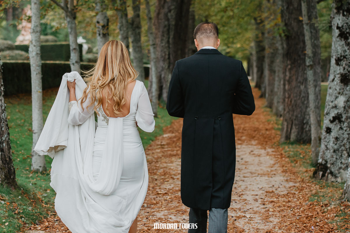 Foto y vídeo de boda en San Ildefonso